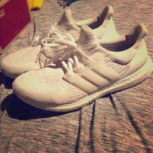 Adidas ultra boost 3.0 white/white